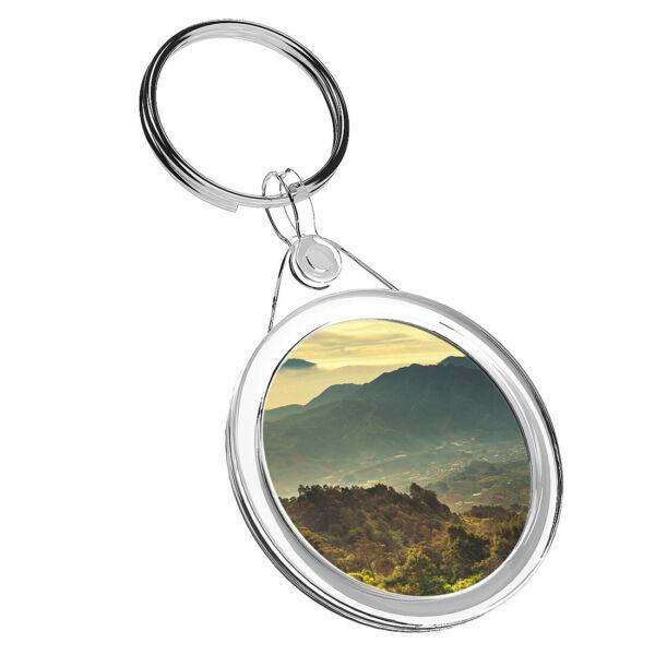 1 Cool Java Landscapes X Mountain-portachiavi Ir02 Mamma Papa 'regalo Di Compleanno #16649