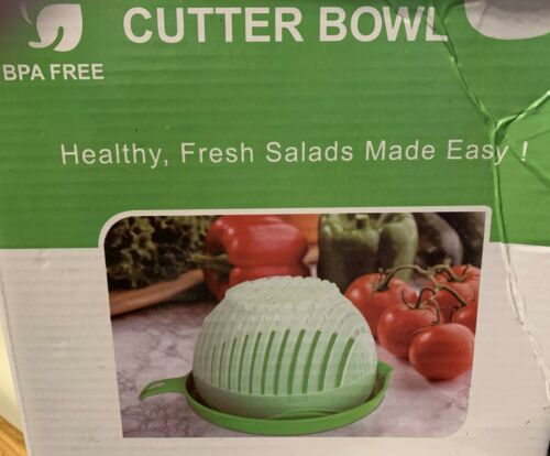 SALAD CUTTER BOWL HEALTHY FRESH SALADS MADE EASY// BRAND NEW