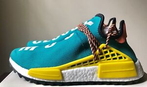 ed34492ff76d3 Adidas x Pharrell Williams Human Race NMD Trail Sun Glow Hu Clouds ...