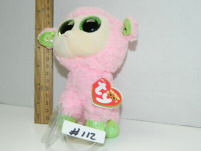 """Ty Beanie Boo Boos Babs the Easter Lamb 6/"""" NEW MWMT FREE Shipping!!"""
