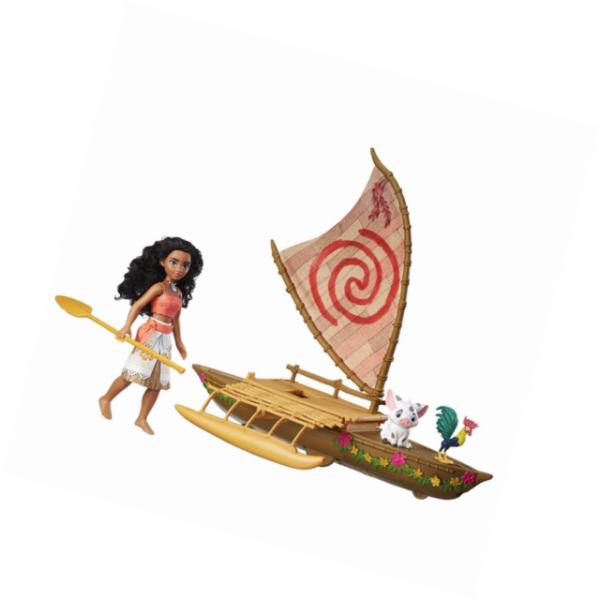 """Disney Moana Starlight 18/"""" Canoe Raft Boat w// working light"""