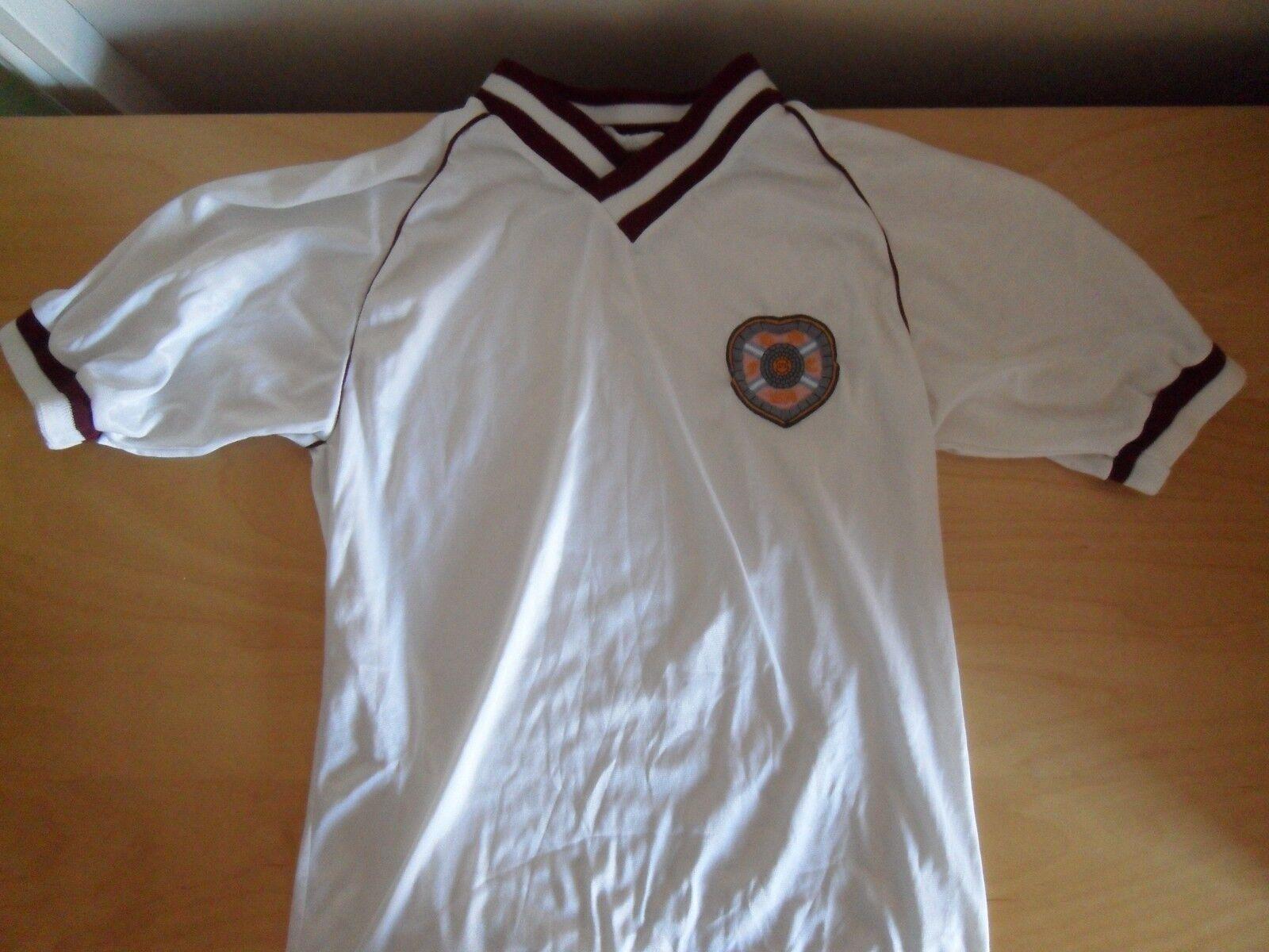 CUORI RETRÒ FOOTBALL SHIRT ANNI'80 Bukta Grandi Ragazzi. Cuore Di Midlothian