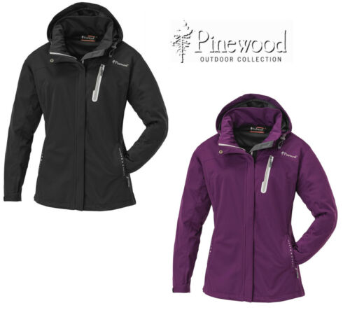 Pinewood Cumbria Damen Stretch-Shell Jacke