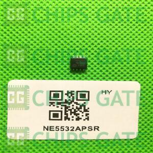 5PCS-NE5532APSR-TI-IC-OPAMP-GP-10MHZ-8SO