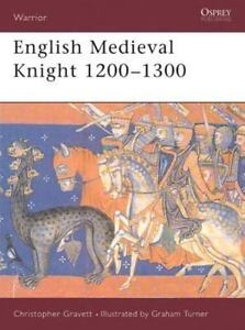 English Medieval Knight 1200-1300 [Warrior 48]