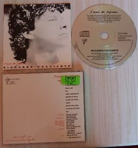 TRES-RARE-CD-IL-MARE-DEI-PAPAVERI-RICHARD-COCCIANTE-RICCARDO-10-TITRES-1985