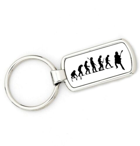 Mans Evolution APE TO GUITAR Key Ring  brand new gift present Original EVO