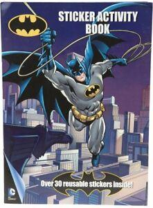 Oficial DC Comics Batman Reutilizable Colorante Libro de pegatinas de actividad Pack 301039