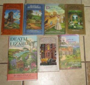 Lot-7-ROBIN-PAIGE-Books-Victorian-Edwardian-Mysteries-Death-Dartmoor-Whitechapel