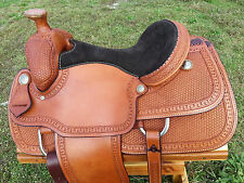 "15"" Spur Saddlery Roping Saddle (Team Roper) Made in Texas"