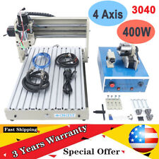 Desktop Usb 4axis 3040 Cnc Router Milling Engraver Wood Pcb Crafts Model Routers