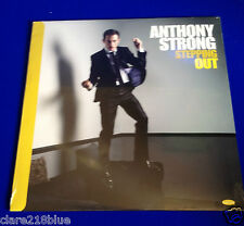 Anthony Strong SteppingOut LP Jazz  Record 2013 Voice Piano Bass Drum Sax String