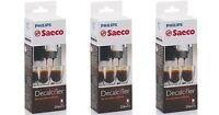 Saeco Espresso Machine Liquid Descaler Ca6700/47 - 3 Pack
