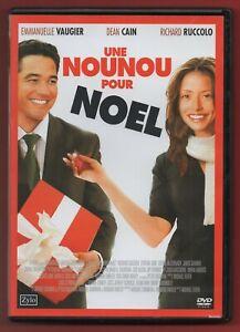 DVD - Une Nounou Für Noel Avec Emmanuelle Vaugier, Dean Cain Und Richard Ruccolo