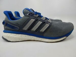 Men's Adidas Energy Boost 3 Grey Blue Sport Athletic Running Shoes AF4921 New | eBay