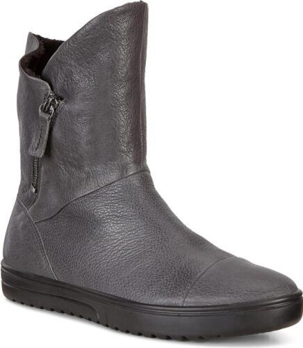 Ecco Fara Femmes Women/'s Leather Lumière Flexible Fermeture Éclair Mi-cut boots Aimant