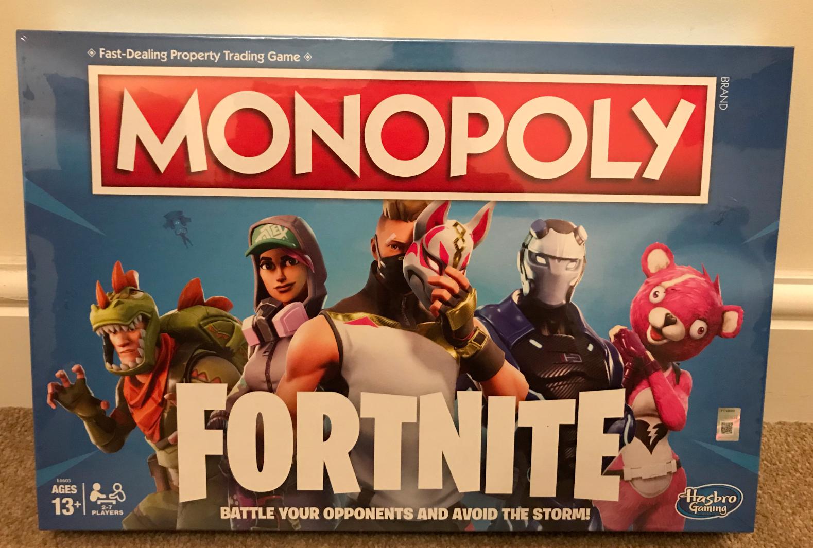 outlet online economico Monopoly Gioco Da Tavolo Edizione fortnite quindici giorni giorni giorni NUOVI 2018 Natale più venduti  ordinare on-line