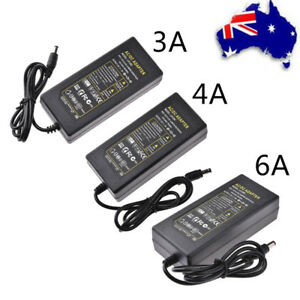 DC-12V-3A-4A-6A-Power-Supply-Adapter-Charger-Transformer-For-LED-Strip-Light-AU