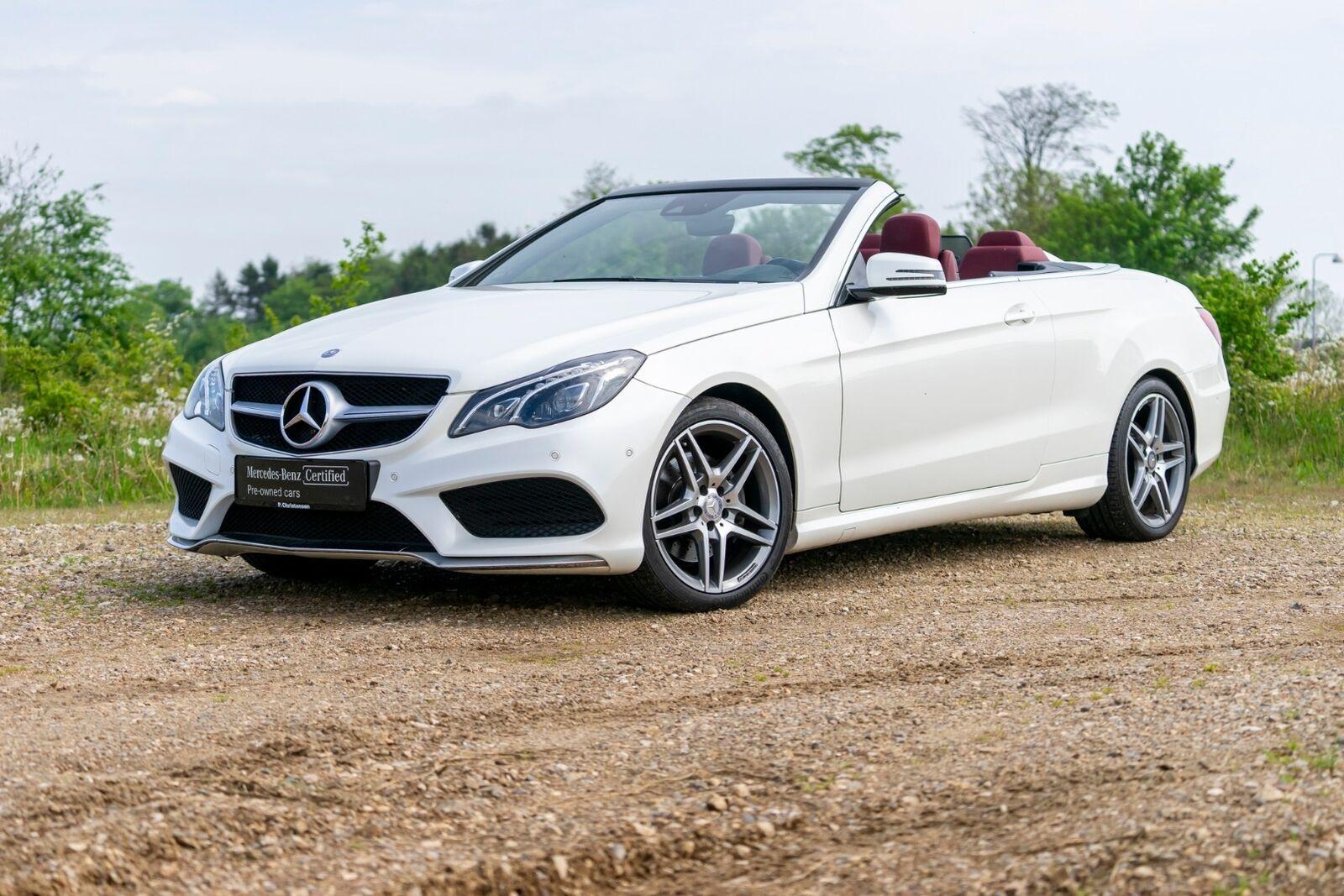 Mercedes E350 3,0 BlueTEC AMG Line Cabriolet aut 2d - 12.196 kr.