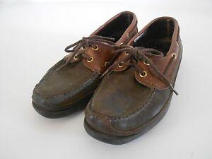men's dexter casual shoes brown leather 7 m medium  ebay