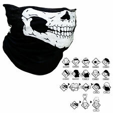 Hot Bicycle Ski Skull Half Face Mask Ghost Scarf Multi Use Neck Warmer Outdoor