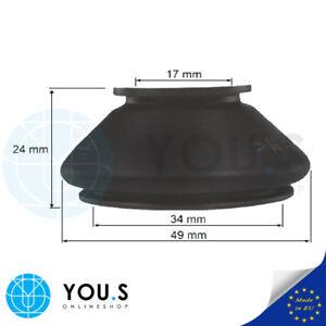 2-x-Universell-passende-Spurstangenkopf-Gummi-Manschetten-Masse-17-34-24-mm