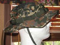 Trilam Boonie Hat Flecktarn Camo - By Mil-tec Sturm Germany- Size - 2xl-