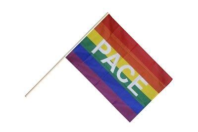 Flaggen Pin Regenbogen Pace Fahne Flagge Anstecknadel