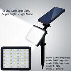 48 LED Solar Powered Flood Light Outdoor Yard Garden Spot Lamp Waterproof Newest