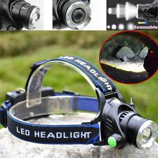 Tianci 90000LM XM-L T6 CREE LED Bright Headlamp Torch Flashlight - Black