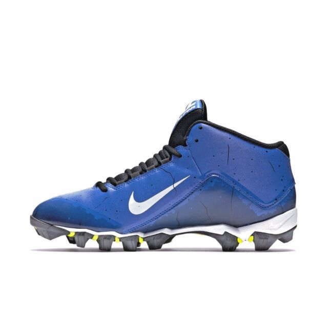 premium selection 1e792 b6ad9 NIKE ALPHA SHARK 2 3 4 BLUE   BLACK FOOTBALL MEN S 11.5 CLEATS SHOES 719952