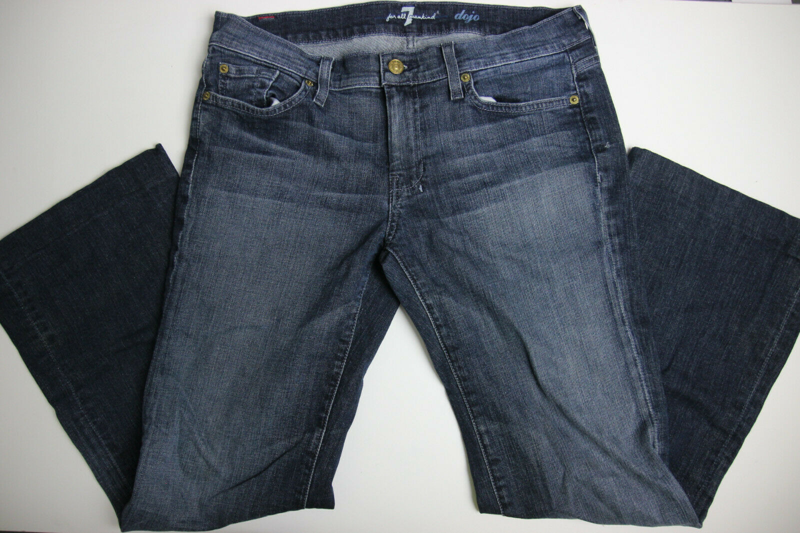 7 For All Mankind Womens DOJO Bootcut Jeans 31