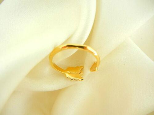 M//L Stella /& Dot gilded ARROW Gold Tone ring réglable Neuf Authentique