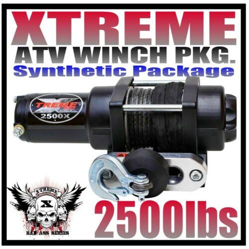 2500LB XTREME ATV WINCH SUZUKI 05-2018 King Quad 750 700 500 450 2500
