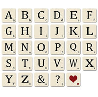 Bluebell personalised scrabble alphabet coasters table for Furniture 5 letters word whizzle