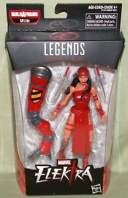 Marvel Legends Spider-Man Elektra 6 inch Action Figure New SP DR Wave