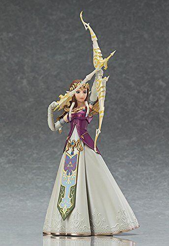 Figma zelda zelda twilight princess or the legend of zelda action - figur