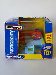MATCHBOX-MOTORCITY-MINITRONICS-Crane-Vintage-1992-Boxed-EXCELLENT-CONDITION