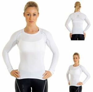 SUGOI-Piston-140-Long-Sleeve-Race-Compression-Long-Sleeve-Top-White-Medium