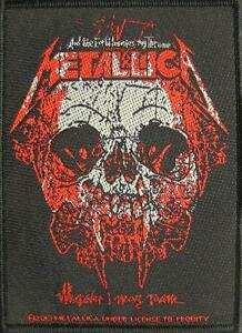 METALLICA-PATCH-AUFNAHER-40-WHEREVER-I-MAY-ROAM-10x7cm