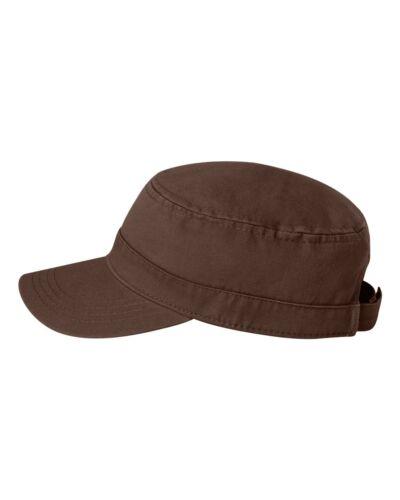 VC800 Cadet Military Style Hat Valucap Fidel Cap