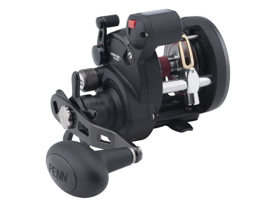 Penn Warfare LW Line Counter Counter Line Left handed Saltwater Multiplier Reel e5db68