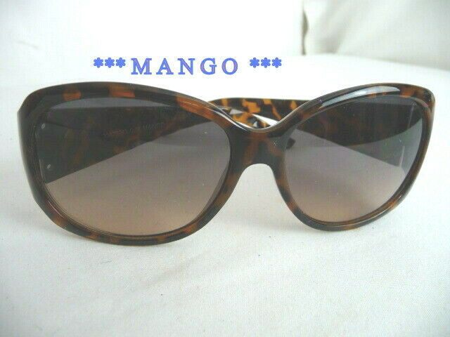 * mango ** solar bezel frame tortoiseshell colour gradient-pristine