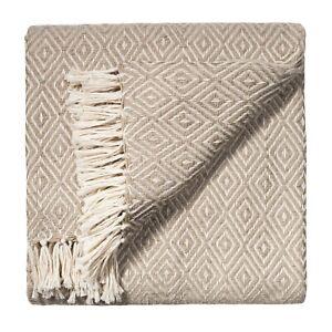 Comercio-Justo-gran-Sofa-Sofa-Sillon-Diamond-Extra-Suave-Colcha-Manta-Cobertor