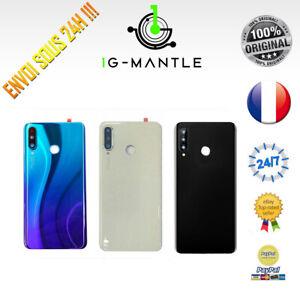 Vitre-Arriere-Cache-Capot-Batterie-Lentille-Complet-HUAWEI-P30-LITE-48MPX