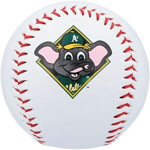 Oakland Athletics Rawlings Mascot Baseball