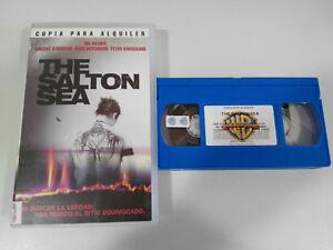 THE-SALTON-SEA-VAL-KILMER-D-J-CARUSO-VHS-KASSETTE-TAPE-KOLLEKTOR-SPANISCH