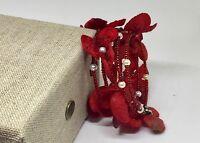Handmade Womens Bracelet Memori Wire Red Bracelet This Bracelets Is Unique