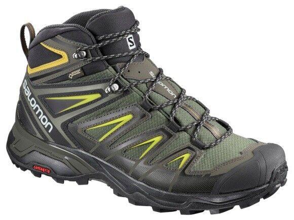 Salomon X Ultra 3 Mid GTX Goretex Gr 42 2/3 Outdoor Schuhe Stiefel Neu