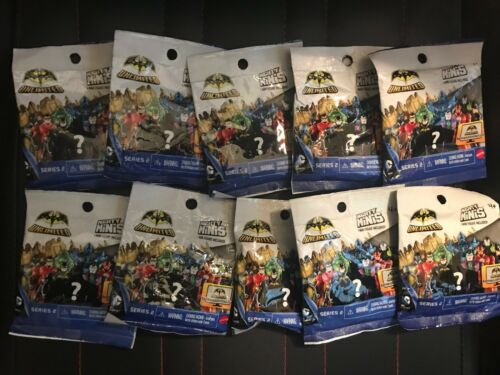 NEW Lot of 10 Batman Unlimited SERIES 2 Mighty Minis Blind Bag Mini Figure